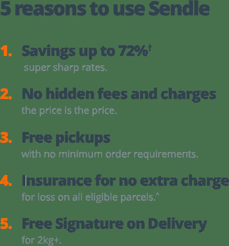 5-reasons-to-use-sendle