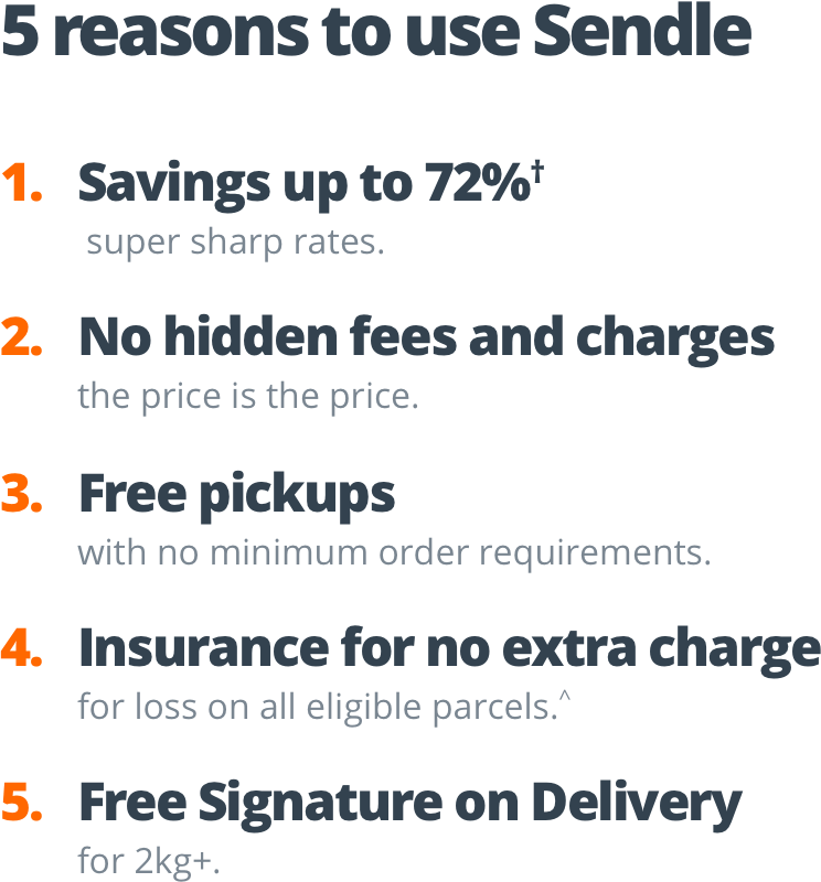 5-reasons-to-use-sendle