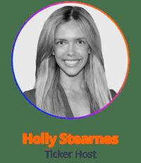 Holly Stearnes Ticker Host