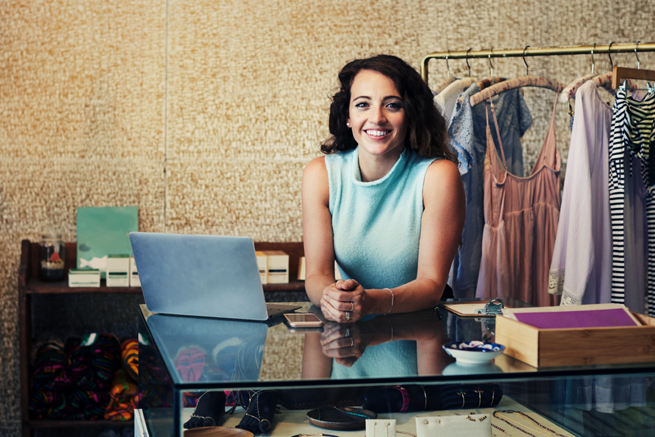 Small businesses like hers get the best news - straight to her inbox