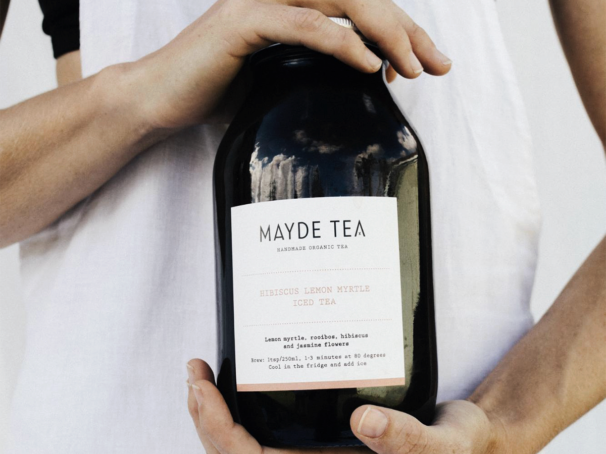 Mayde Tea, a Sendle customer