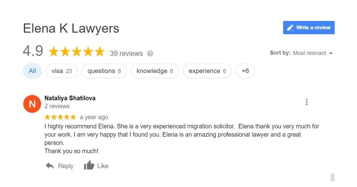 google business ratings reviews result law firm