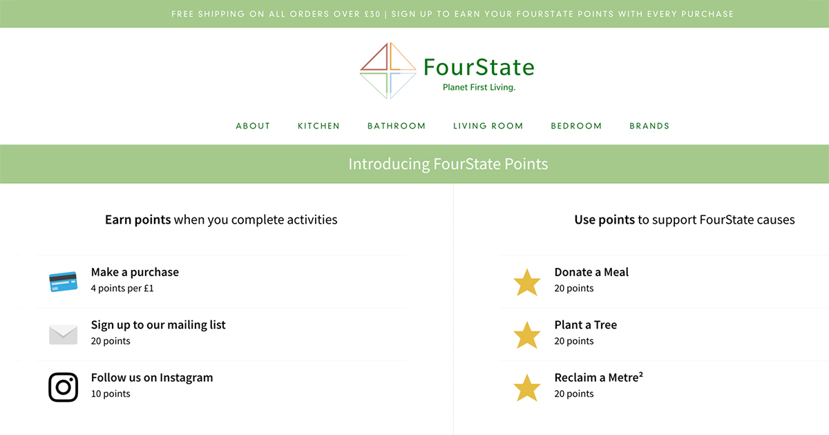 FourState loyalty program