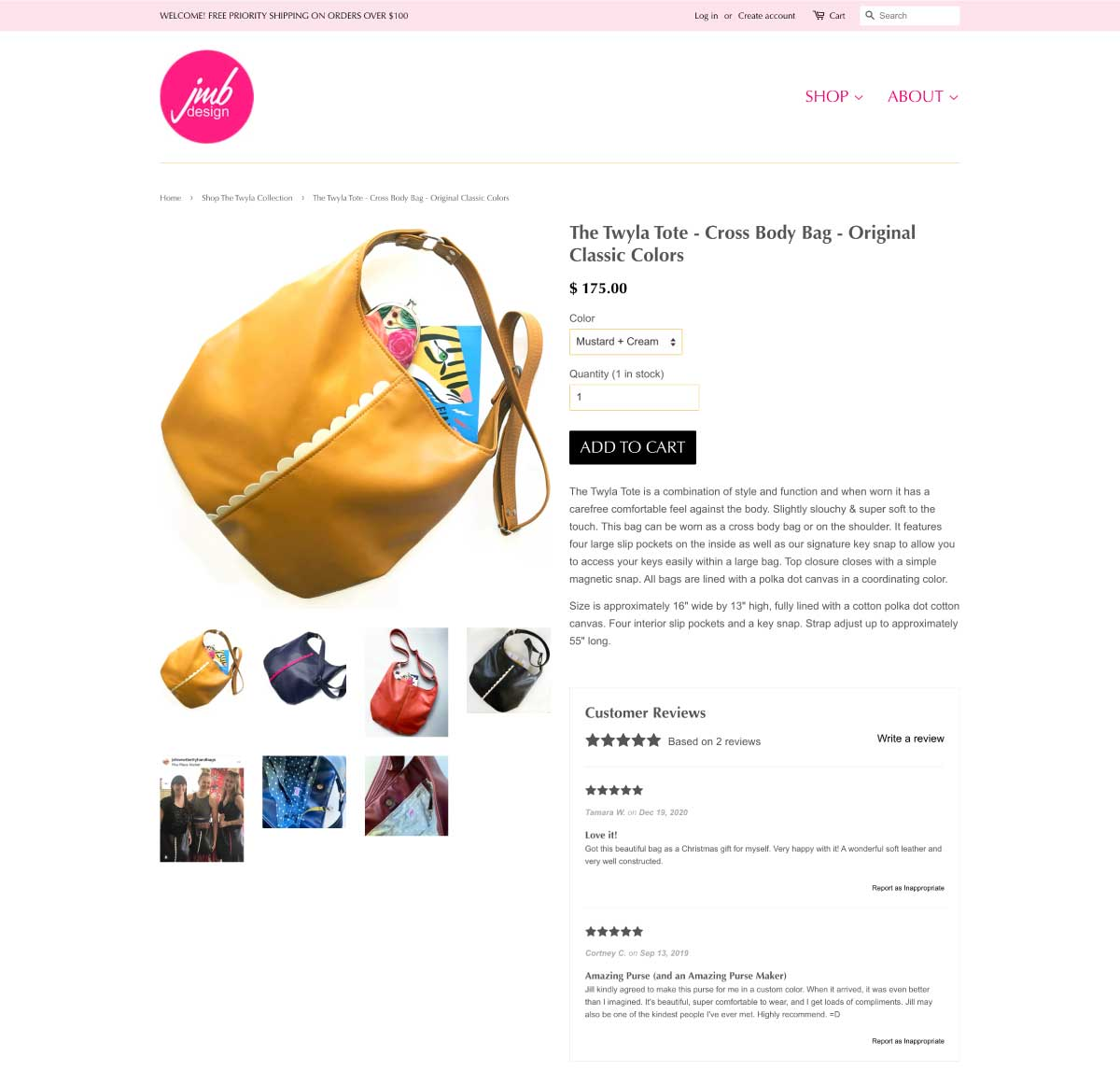 john met betty product page social proof customer reviews