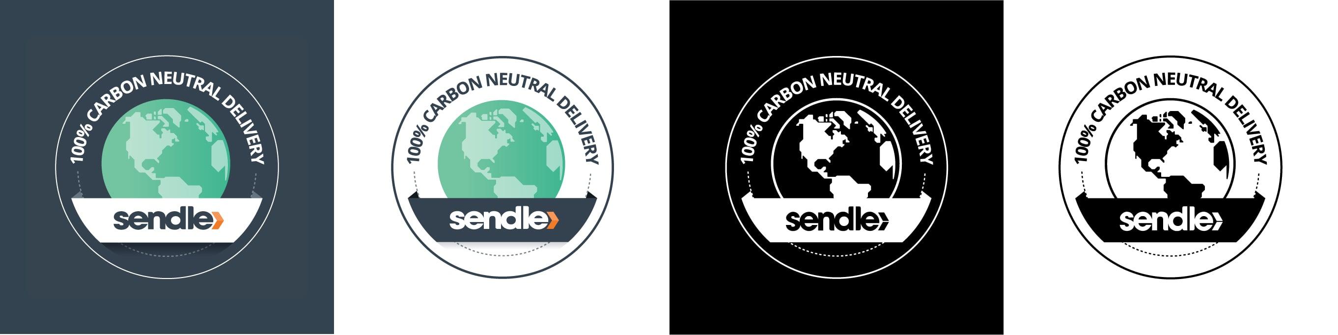 Sendle Carbon Neutral Delivery Badges