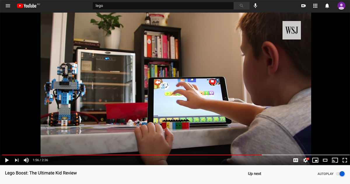 LEGO user generated content video